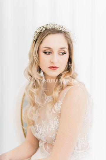 Aurora crown -handmade