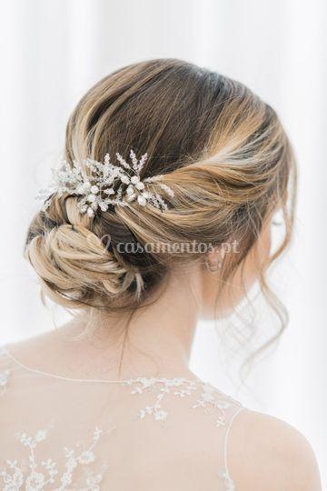 Elsa bridal pins-handmade