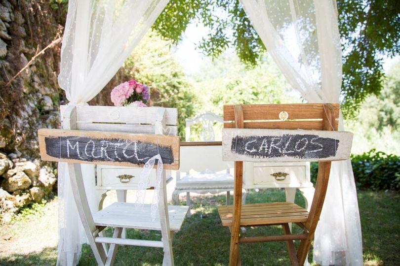Casamento estilo rústico
