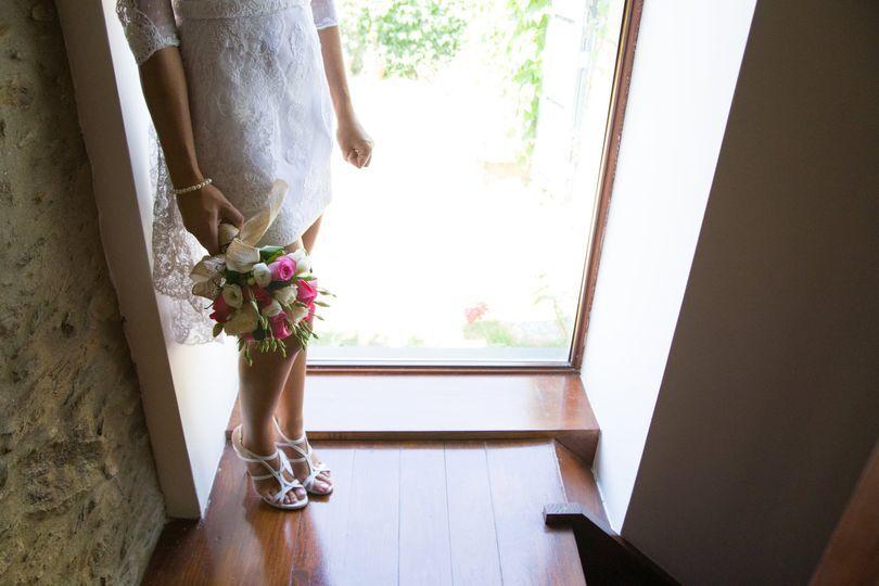 Noiva arrojada