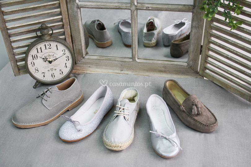 Sapatos criança casamento