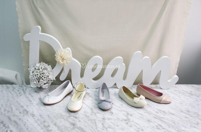 Sapatos menina casamento