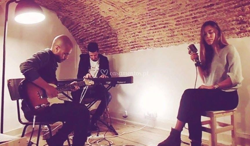 Gravação em Trio