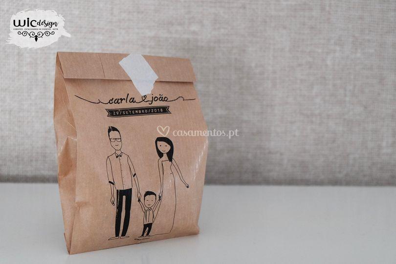 Saquetas de arroz