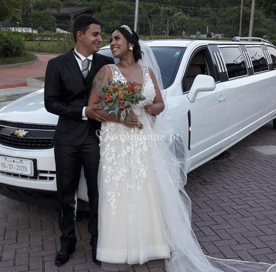 Casal Henrique e Luciana