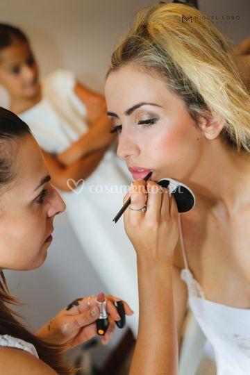 Preparação de noiva