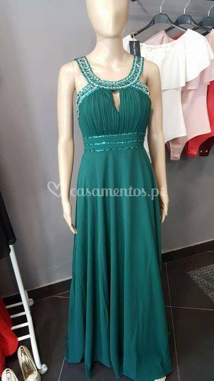 Vestido venus - verdesmeralda
