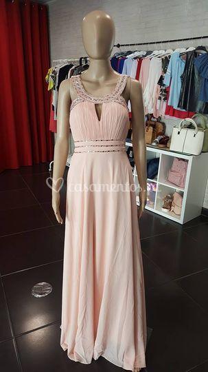 Vestido vénus - rosa velho