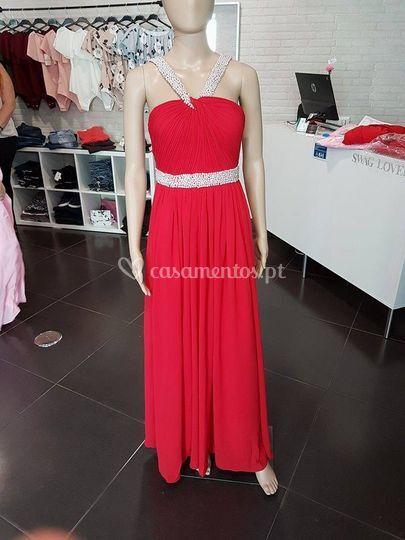 Vestido melissa - vermelho