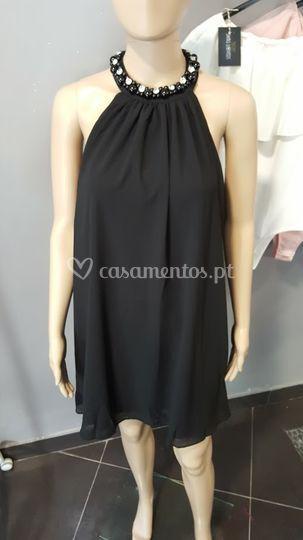 Vestido rita - preto