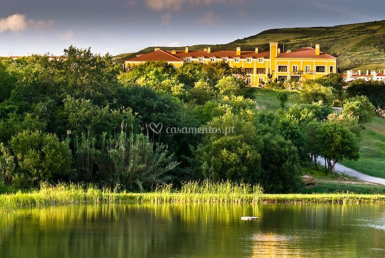 Lago do hotel