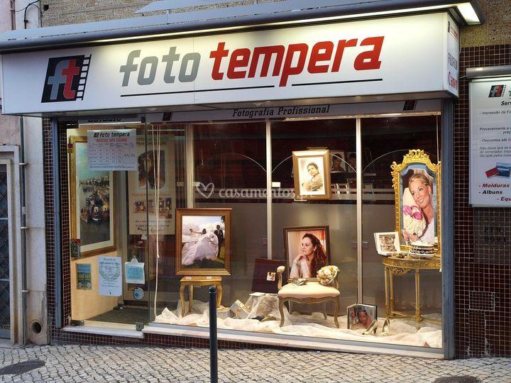 Loja Foto Tempera