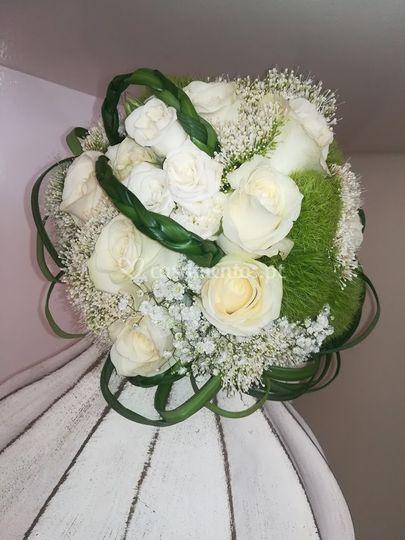 Bouqet de noiva romântico