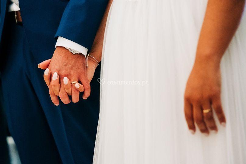 Manicure noiva