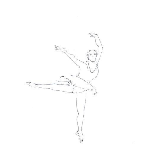 Bailarina - R. Coelho Caneta