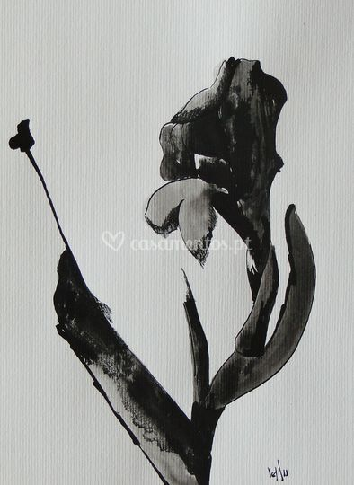 Fleur - L.Camps Tinta China