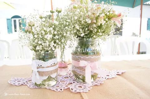 Rendas e flores