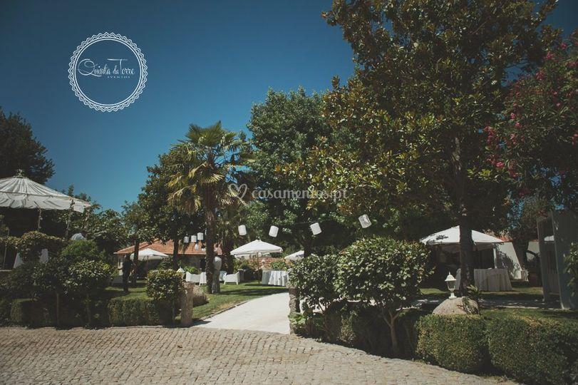 Jardim/entrada
