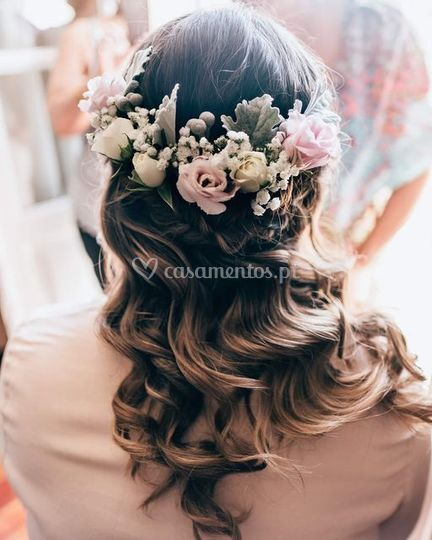 Colour&Hairstyle&Flowers by me