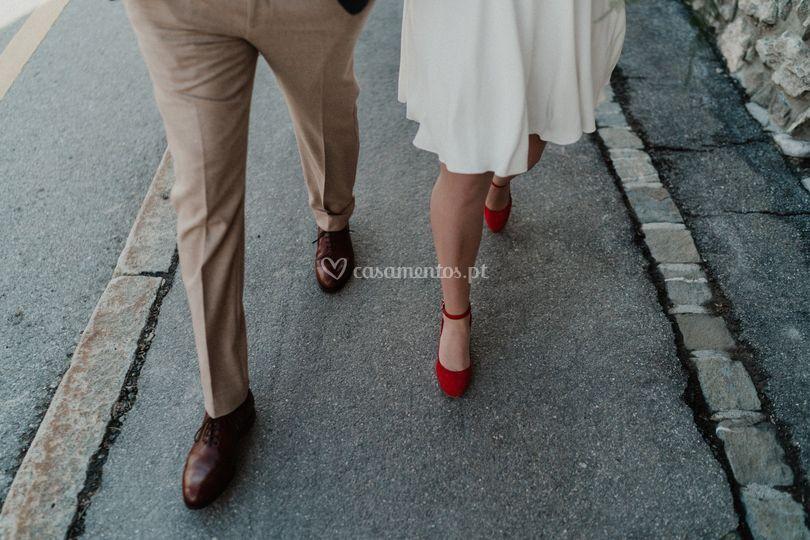 David & Marta - Champéry