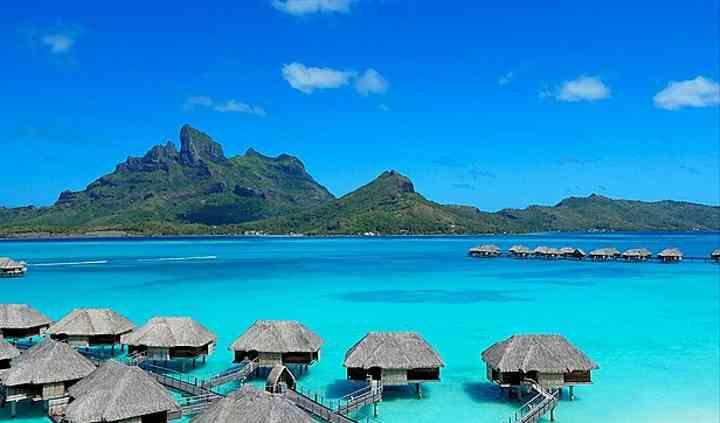 Um lugar paradisíaco