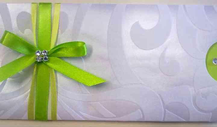 Convite Arabesco Verde