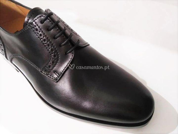 Perfil shoes, sapato em pele