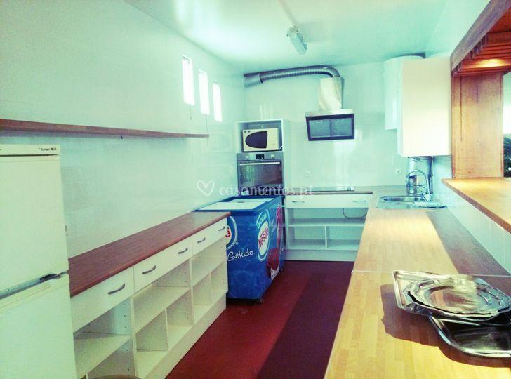 Cozinha salão