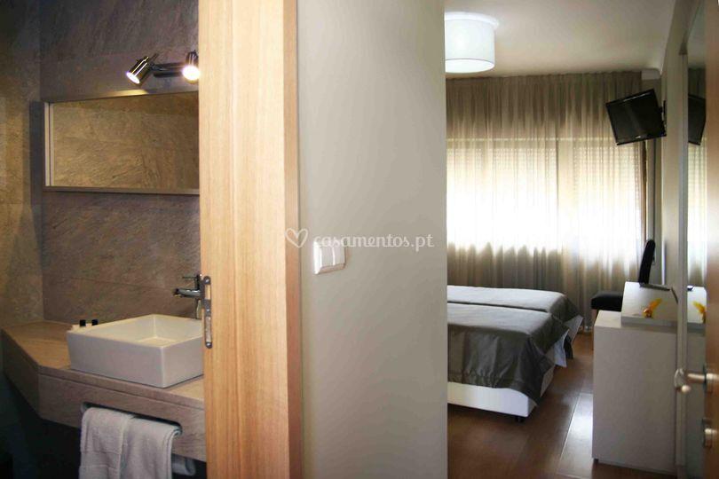 Detalhes dos quartos