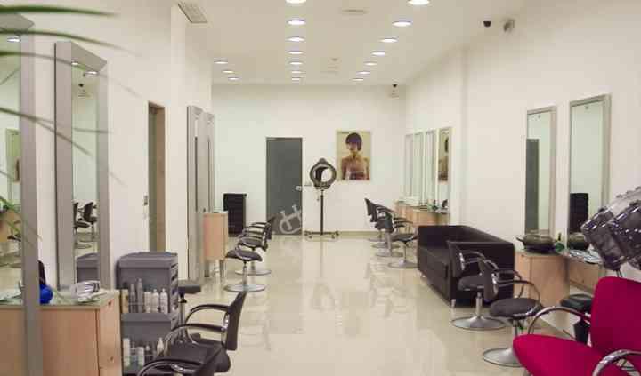 O salão de cabeleireiro