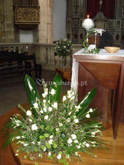 Decoração igreja em branco