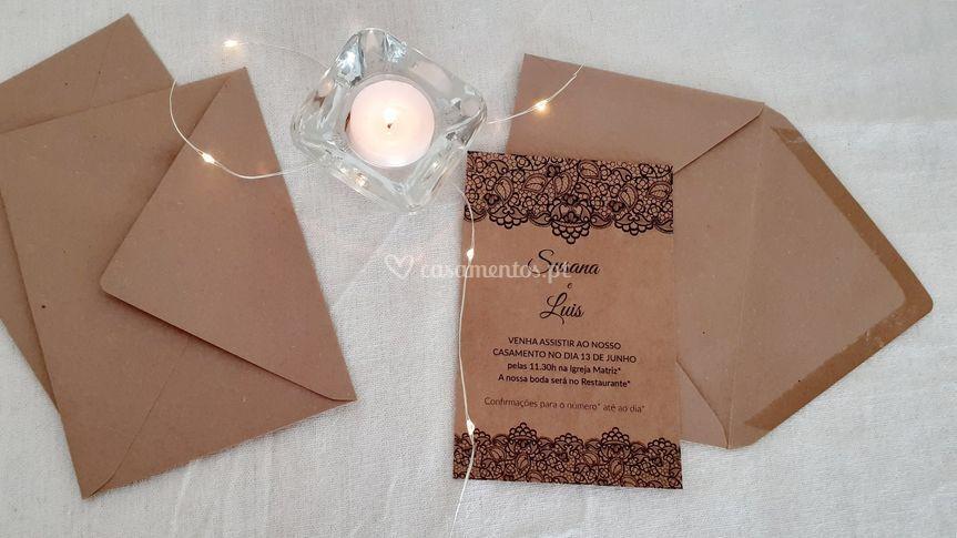 Convite Reciclado