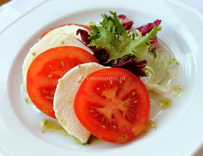 Tomate e mozzarela