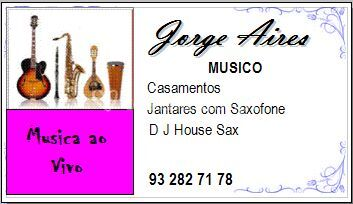 Jorge Aires Musica Live Music