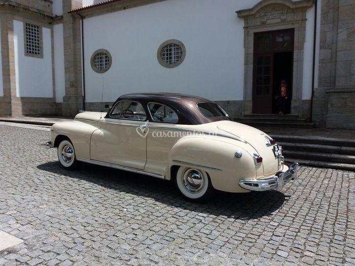 Dodge coupe clássico 1948