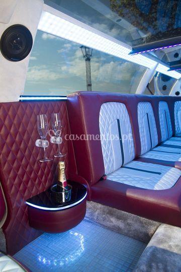 Frape com champagne