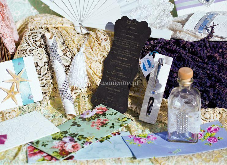Convites/Menus/Placard/Brindes