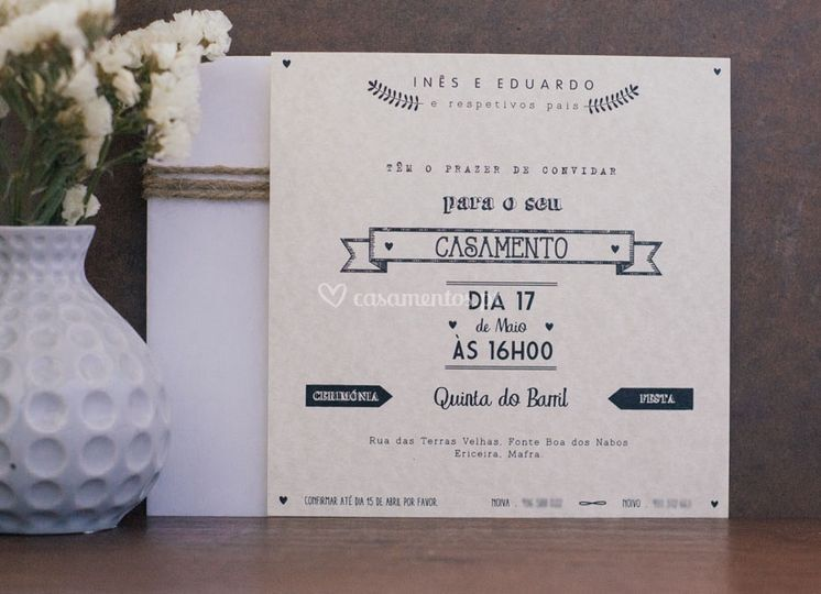 Design dos convites