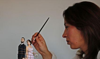 Atelier Xandra LovelyArt - Topo de bolo 1