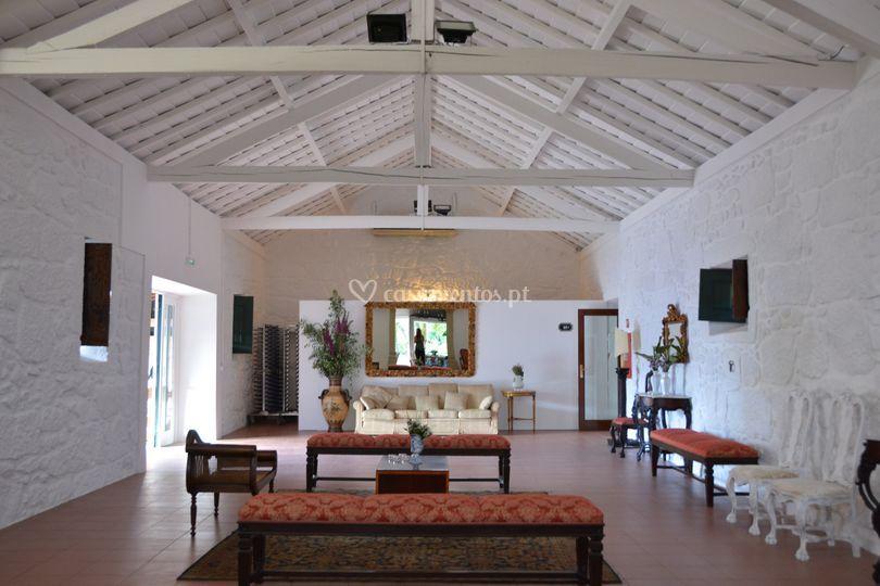 Sala de aperitivos interior