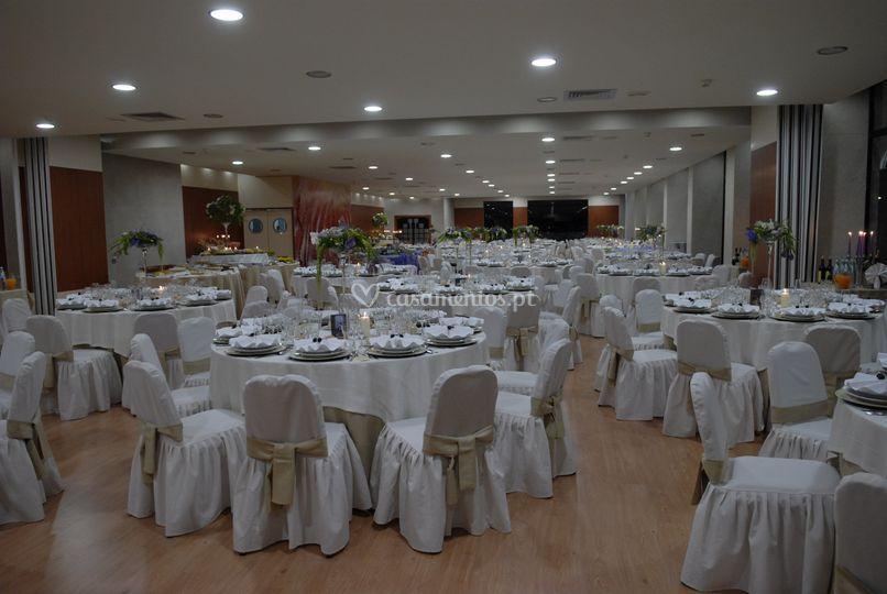 Sala principal à noite