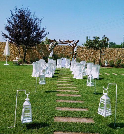 Casamento civil jardim