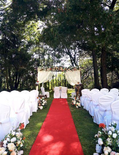 Cerimónia jardim
