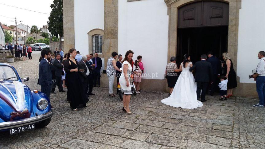 Transporte dos noivos