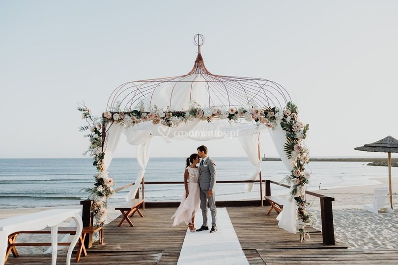 Fotografarte - Casamento Praia