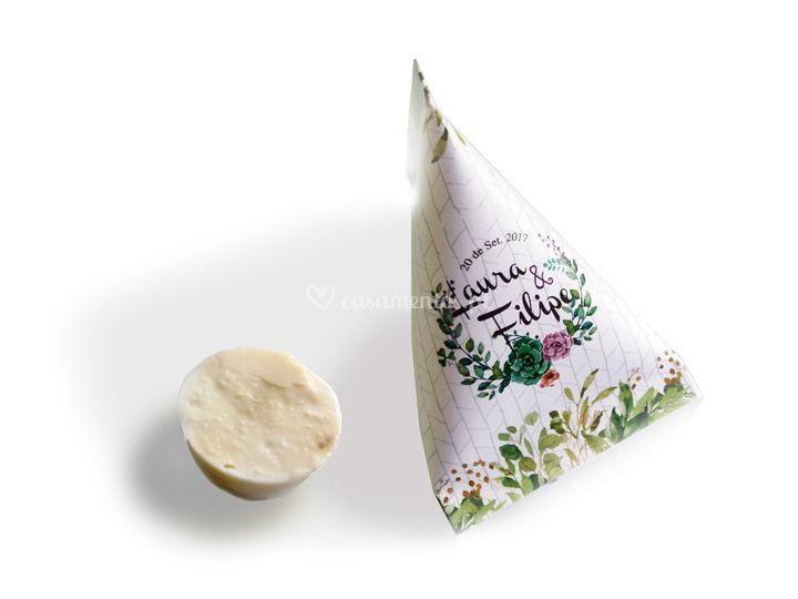 Sabonetes de azeite pequenos
