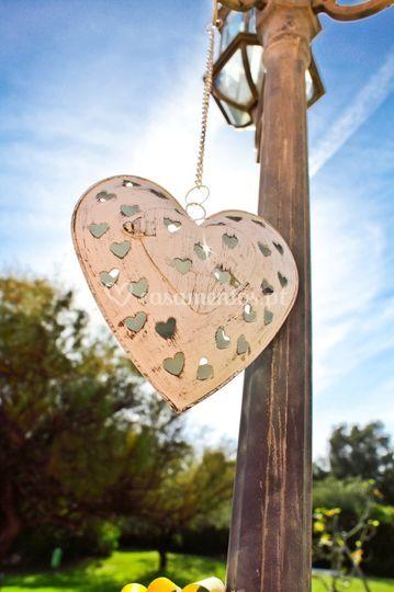 Decoração coração