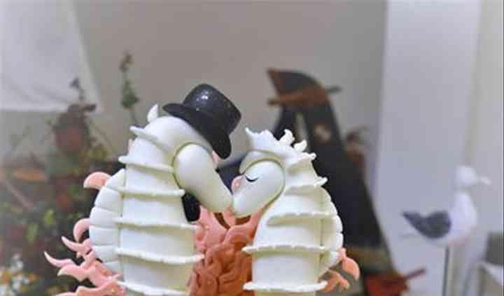 Casamento com tema mar