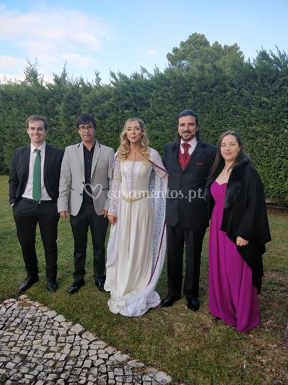 "Uma noiva ""Medieval"""