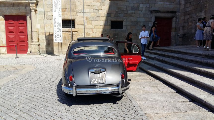 Jaguar Mk 1 de 1957